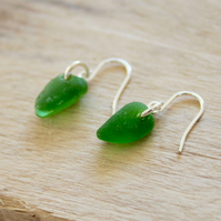 Seaglass Hook Earrings