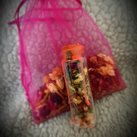 20ml Wicca Love Herb and Flower Spell Bag