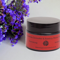 Lavender Face Cream with added Rosehip Oil & Frankincense