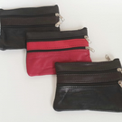 Soft Leather purse - Handmade in spain