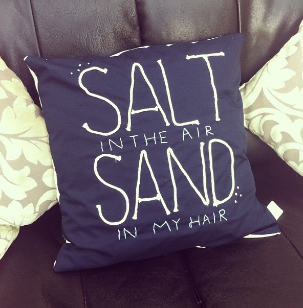 Salt & Sand Nautical Cushion