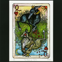 The Queen of Hearts - Greyhound