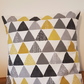 Geometric pattern cushion cover