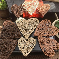 Willow Heart natural crafted
