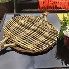 Willow Tension Tray Fruit bowl bread board decorative art