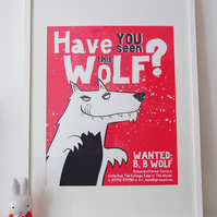 WANTED Screen Print - 5th Edition