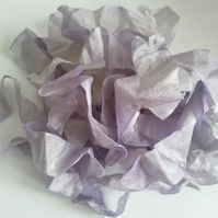 3 Yards Shabby Seam Binding Ribbon Wisteria