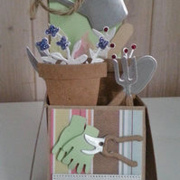 Birthday Gardening Card