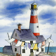 Light House, Limited Edition Print, Art Print
