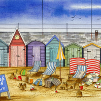 Beach Huts No. 1