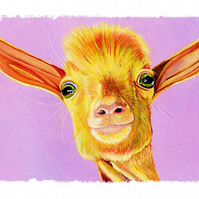 Lawson memorial print, The Goats of Anarchy Charity, Goat print,