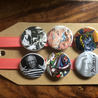 Picasso - Pin Badge Set or Magnet Set