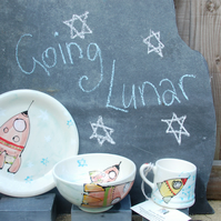 'Going Lunar' nursery set