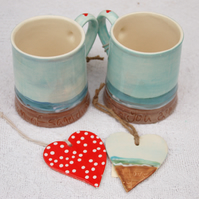 valentine beach mugs