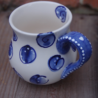 jelly belly mug in blues