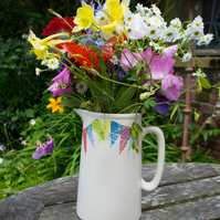 endless summer bunting two pint jug