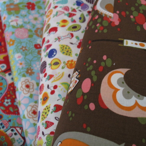 Alexander Henry bundle of quirky willow cotton fabric