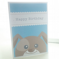 Personalised Dog Children's Birthday Card
