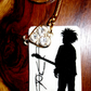 The Cure - Robert Smith - Keyring - bag charm