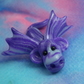 Variegated Dragon 'Gloam' OOAK Sculpt by artist Ann Galvin Gnome Village