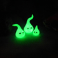 Glow-in-the-dark GlowBugs Family - Magic! OOAK Sculpt by artist Ann Galvin