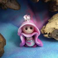 Princess 'Naomi' Tiny Royal Gnome with Crown Jewels OOAK Sculpt by Ann Galvin