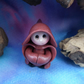 "Tiny Gnome Monk 'Brother Harryl' 1.5"" OOAK Sculpt by Ann Galvin Gnome Village"