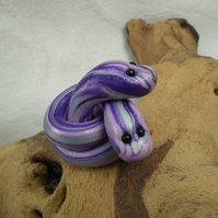 Celtic Conundrum Snakes 'heads-no-tails' OOAK Sculpt by artist Ann Galvin