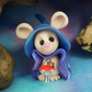 Midnight Mouse 'Tok' Guardian of Time OOAK Sculpt by Ann Galvin Gnome Village