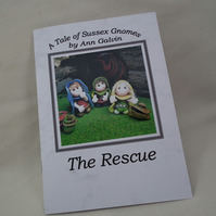 A Tale of Sussex Gnomes 'The Rescue' by Ann Galvin A5 Handmade Book