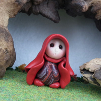"Tiny Gnome Maiden 'Endall' 1.5"" OOAK Sculpt by Ann Galvin"