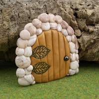 Sale Small Gnome Portal clearance price OOAK Sculpt Fairy Door