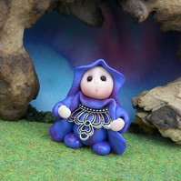 "'Princess Frant' Gnome 1.5"" OOAK Sculpt by Ann Galvin"