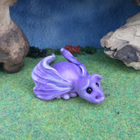 Variegated Dragon 'Quince' OOAK Sculpt by artist Ann Galvin Gnome Village