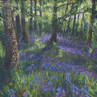 """Bluebell Wood"" Giclée Print"