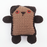 Crocheted Bear Toy