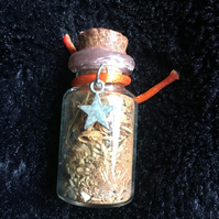 Success fairy witch bottle