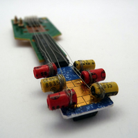New Tiny Circuitboard Guitar RESERVED for Ruth