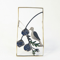Dove Frame Brooch