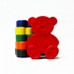 Teddy Bear Crayons - Set of 6
