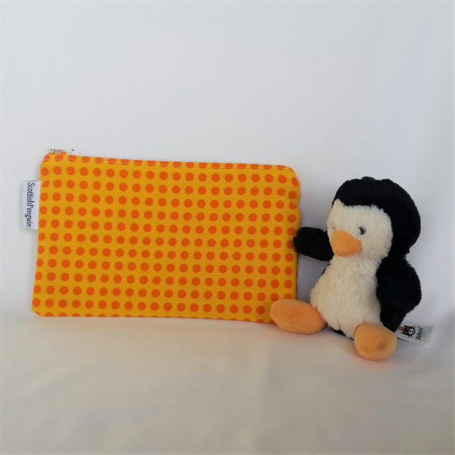 Orange Spots Useful Bag