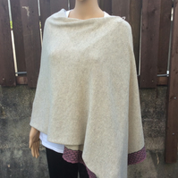Merino wool & Silk wrap