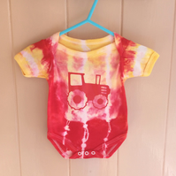 Tie Dyed body suit 0-3 months