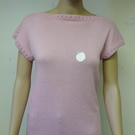 Cotton knitted T shirt