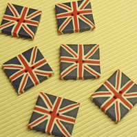 Union Flag Buttons
