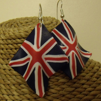 Union Flag Earrings