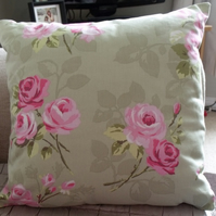 Cushion Cover in 'Nancy' Floral Green