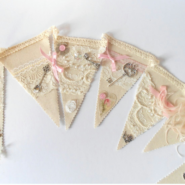 shabby chic bunting - photo #2
