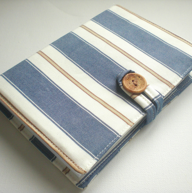 A6 Notepad Cover: Gentleman's Stripe