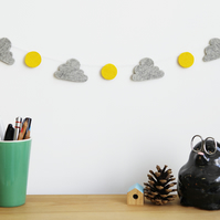 Sun & Cloud Garland